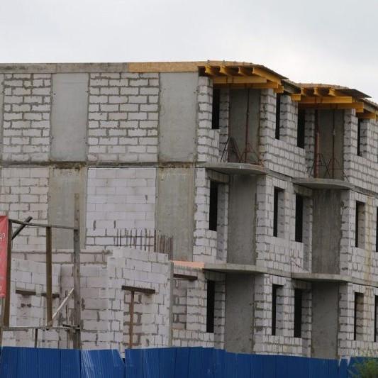 Строительство корпусов в ЖК Дубровка на Неве сентябрь 2016