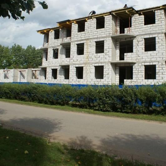 ЖК Дубровка на Неве фото с хода строительства в августе 2016